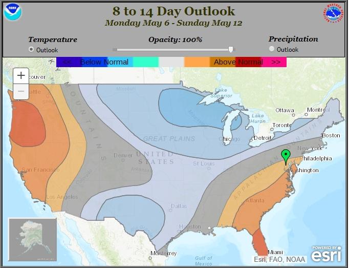 Forecast chart image